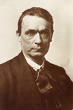 Portrait of the Philosopher and Esotericist Rudolf Steiner