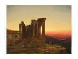 Temple of the Sibyl  Tivoli (Early Morning at Paestum)  1876