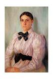 Portrait of Mrs William Harrison  C1890
