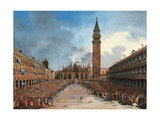 The Doge in the Pozzetto in Piazza San Marco
