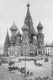 The Cathedral of St Basil the Blessed on the Red Square in Moscow