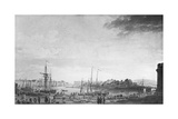 View of the Port of Dieppe  1765