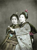 Two Geisha Girls  C1880
