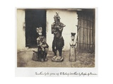Heathen Gods Given Up to Bishop Crowther by People of Benin  1870s