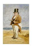 Full Length Portrait of Joseph Mallord William Turner  1849