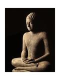 Meditating Buddha  Davaravati Period