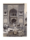 The Mosque of Nazir Khan  Lahore  C1890