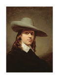 Self-Portrait in a Broad-Brimmed Hat  1848