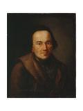 Portrait of Moses Mendelssohn  after 1771