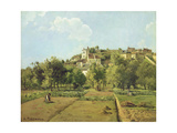 Pontoise  or the Gardens of the Hermitage  Pontoise  1867