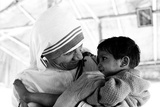 Mother Teresa with a Child