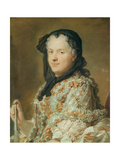 Portrait of Maria Leszczynska  Queen of France and Navarre  1744-48