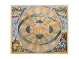 Scenographia: Systematis Copernicani Astrological Chart (C1543) Devised by Nicolaus Copernicus…