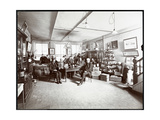 Group of Men Drinking Wine at GL Nicholas  Wine and Liquor Dealers  43 Beaver Street  New York …