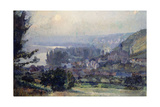 View of Vetheuil  Sunset  1897