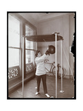 Edna Wallace Hopper Hitting a Punching Bag at Jack Cooper's Gymnasium  Broadway and 37th Street …