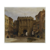 The Bar Gate  Southampton  1888