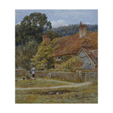 Netley Farm  Shere  Surrey  1878