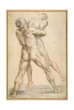 Hercules Wrestling with Antaeus