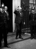 The Curtain Falls for Harold Wilson as He Leaves No10 Downing Street for the Last Time  5th…
