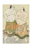 Portraits of the Wrestlers Fudenoumi and Kashiwado