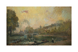 The Banks of the River Seine at St Cloud