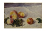 Still Life with Peaches on a Table  C1890-1918