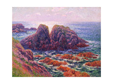 The Sea at Finistere  1899