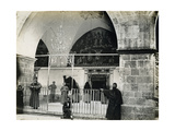 Entrance to the Armenian Cathedral of St James  1850s