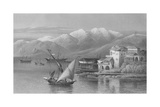 Bay of Beirut  Engraved by C Cousen