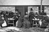 A Welsh Tea Party  Late 19th Century