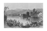 Port of Beirout  the Ancient Berothai  Engraved by J Appleton
