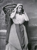 A Newhaven Fishwife  Late 19th Century