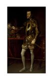 Portrait of Philip II  King of Spain  When Prince  C1628-29