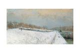 Port De Bercy  Winter