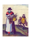 Country Folk Going to Market  1598 (Detail)