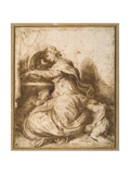 Madonna and Child with St John  All Asleep