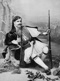 A Greek Evzone  Late 19th Century
