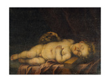 Christ Child Asleep on the Cross