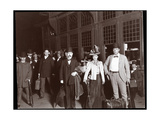 Alice Nielsen  Eugene Cowles and Frank Perley before Boarding a Special Train Bound for Toronto …