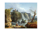 The Falls of Tivoli  1768