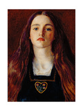 Portrait of a Girl  1857