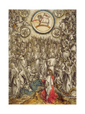 The Lamb of God Appears on Mount Sion  1498
