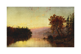 Greenwood Lake at Twilight  1873