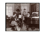 Maud Powell and Two Accompanists  C1896