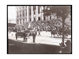 View of the Crowd on the Steps of Brooklyn Borough Hall During the Brooklyn Police Parade  1897