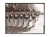 View of West Point Cadets in the Dewey Parade on Fifth Avenue  New York  1899
