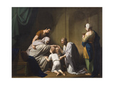 Jacob Blessing Ephraim and Manasseh  1766-68