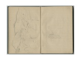 Landscape  from a Sketchbook  1888-89