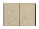 Landscape  from a Sketchbook  1888-89